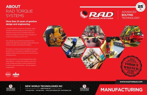 RAD Manufacturing Brochure