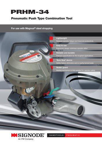 PRHM-34 Pneumatic Push Type Combination Tool
