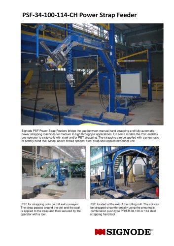 PSF-34-100-114-CH Power Strap Feeder