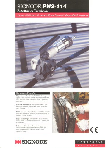 Signode - Steel Strapping Systems, Pneumatic Hand Tools
