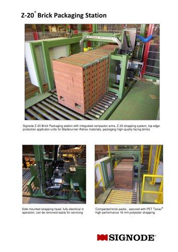Z-20 Brick Packaging Station