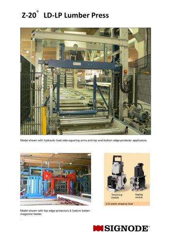 Z-20 LD-LP Lumber Press