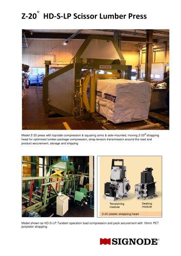 Z20 HD-S-LP Lumber Press