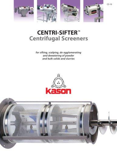 CENTRI-SIFTER? Centrifugal Screeners