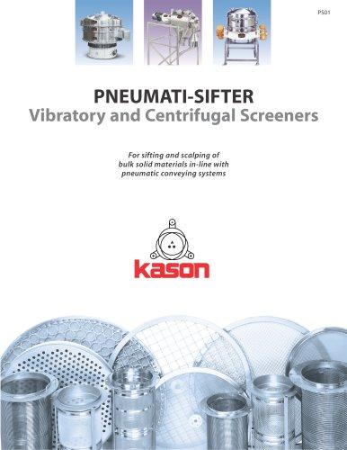 PNEUMATI-SIFTER Vibratory and Centrifugal Screeners
