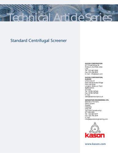 Standard Centrifugal Screener