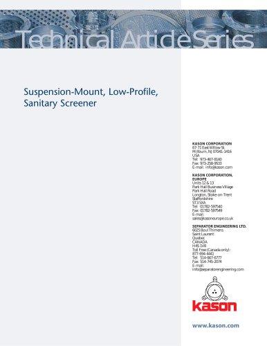 VIBROSCREEN® Low-Profile Screeners
