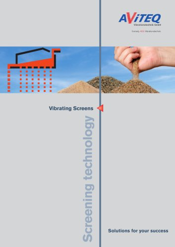 Overview vibrating screen