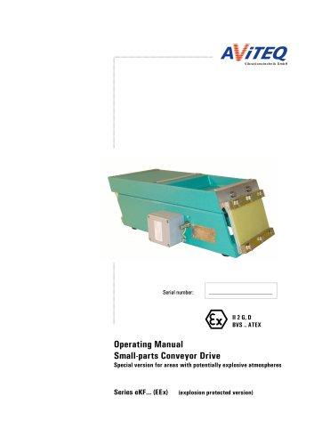 Small conveyors units KF, ATEX