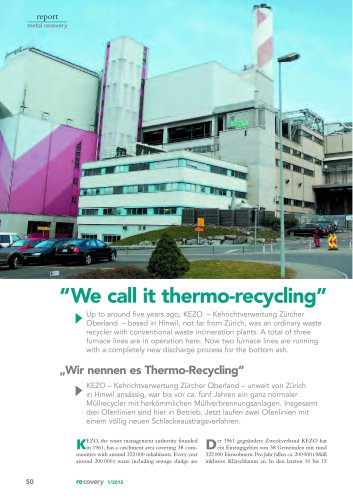 Thermorecycling