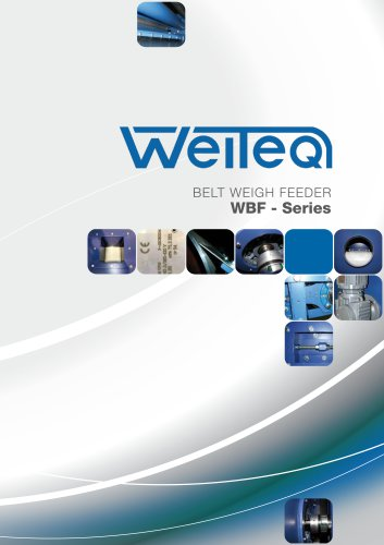 Weiteq WBF belt weigh feeder