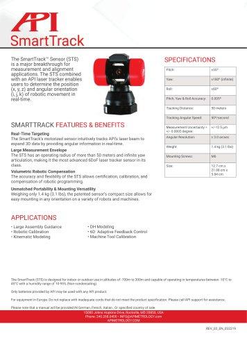 API SmartTrack Sensor