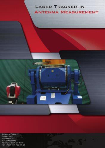Laser Tracker in Antenna Measurement