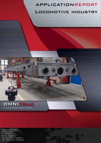 Locomotive Industry: Measurements with laser tracker (Siemens Lokomotivenwerk Munich)