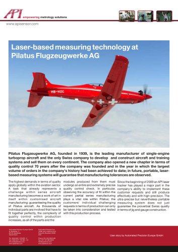 Pilatus Flugzeugwerke AG: Laser-based measuring technology