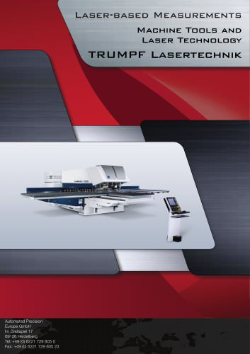 Trumpf: Laser based measurement for punch and laser combination machines