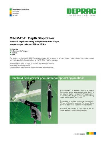 MINIMAT-T Depth Stop Driver