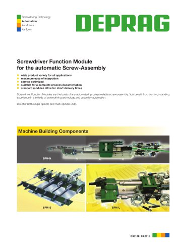 Screwdriver Function Module
