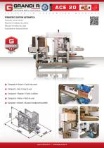 ACE 20 - Automatic carton erector