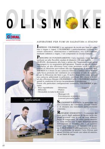 Aspiratore per fumi di saldatura A stagno