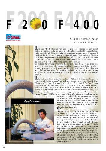 F200 Aspirateur mobile