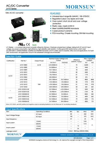 85~264VAC Universal Input LH10