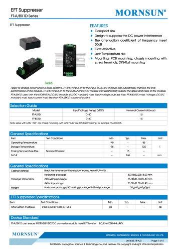 FT-BX1D / Pulse Suppressor