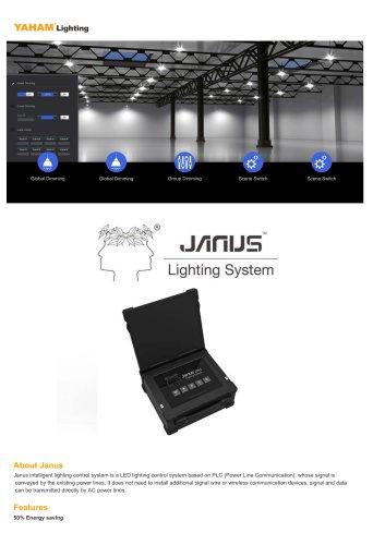 Janus LED lighting control system