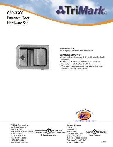 030-0300 Entrance Door Hardware Set