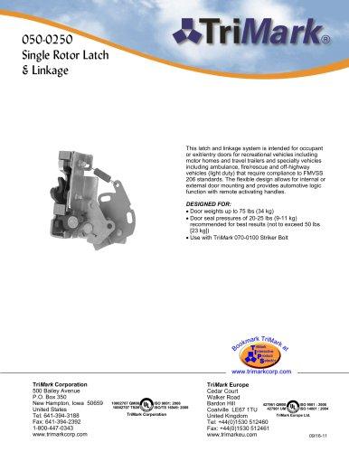 050-0250 Single Rotor Latch & Linkage