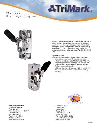 050-1900 8mm Single Rotary Latch