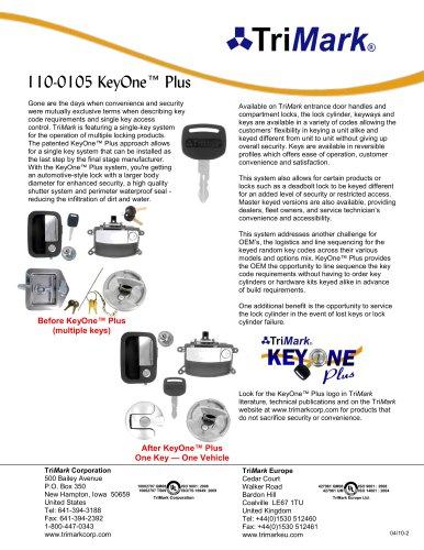 110-0105 KeyOne™ Plus