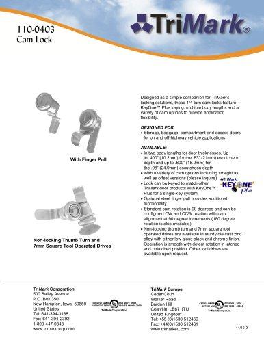 110-0403 Cam Lock