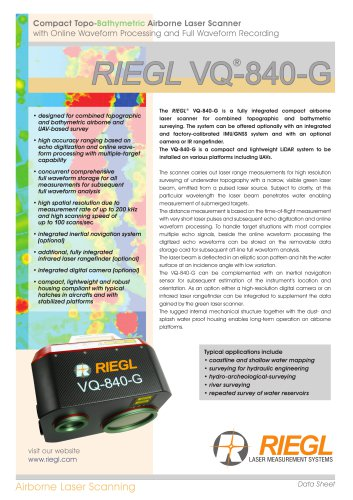 RIEGL VQ-840-G