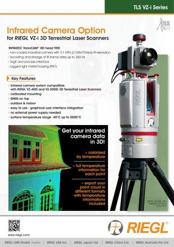 RIEGL VZ-i Infrared Camera Option