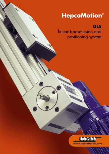 DLS Linear Transmission and Positioning System