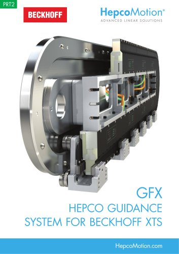HepcoMotion Guidance for Beckhoff XTS System