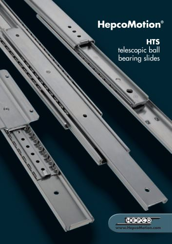 HTS Telescopic Ball Bearing Slides