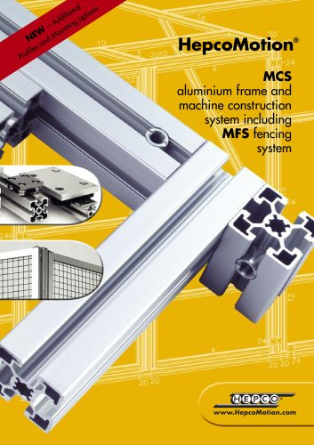 MCS Aluminium Frame and Machine Construction System
