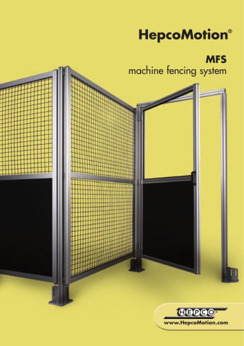 MFS machine fencing system