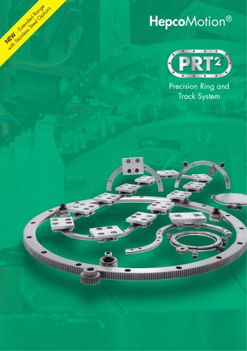 PRT2 Precision Ring Guide and Track System Catalogue