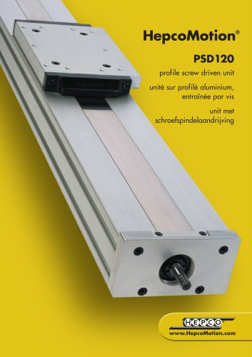 PSD120 profile screw driven unit