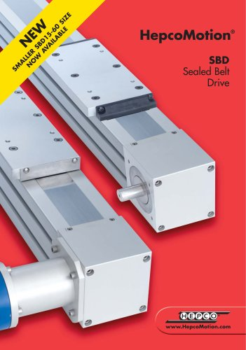 SBD Sealed Belt Drive
