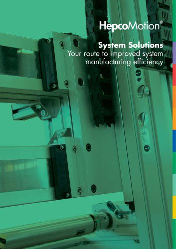 System Solutions and Motion Control