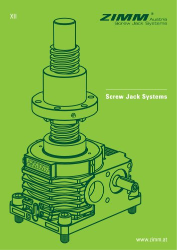 ZIMM GSZ & Z Series Screw Jacks