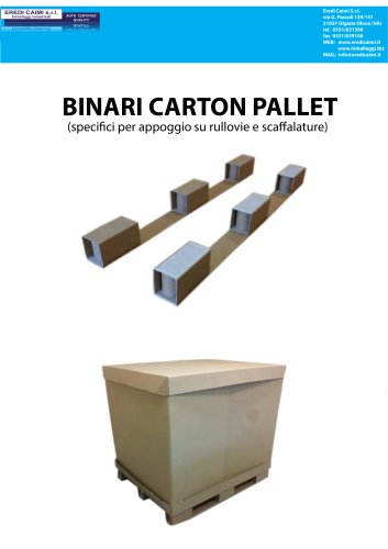 Binari Carton Pallet