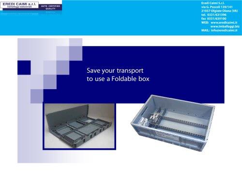 BOX FOLDABLE
