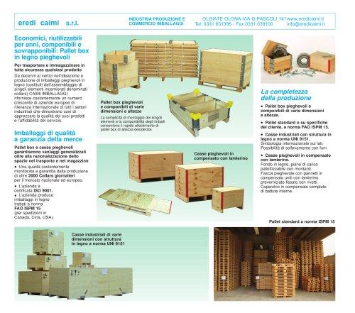 casse legno pieghevoli