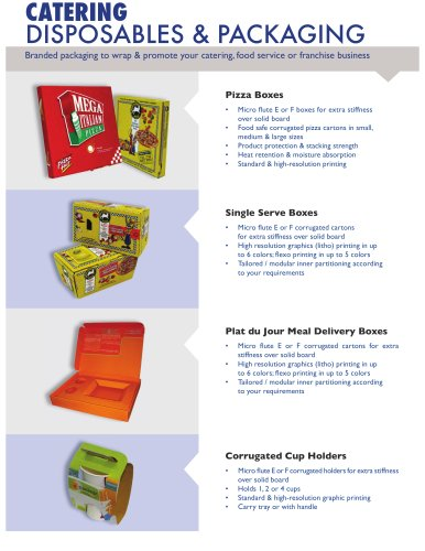 catering packaging