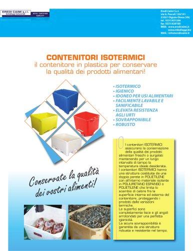 contenitori plastici isotermici